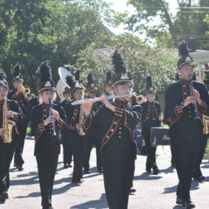 Band Prepares for Fall Concert