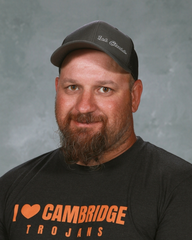 Jason Benson : Head Custodial