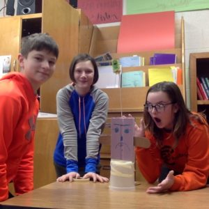 7th Grade Build Towers in Science